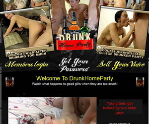 Drunk Home Party